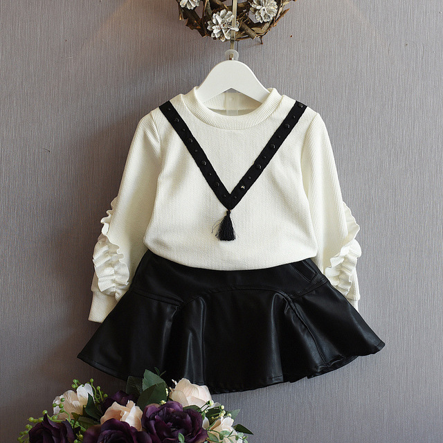 cd4c97955050 Aliexpress.com   Buy Newest Spring Baby Girls Clothes Infant Skirts ...