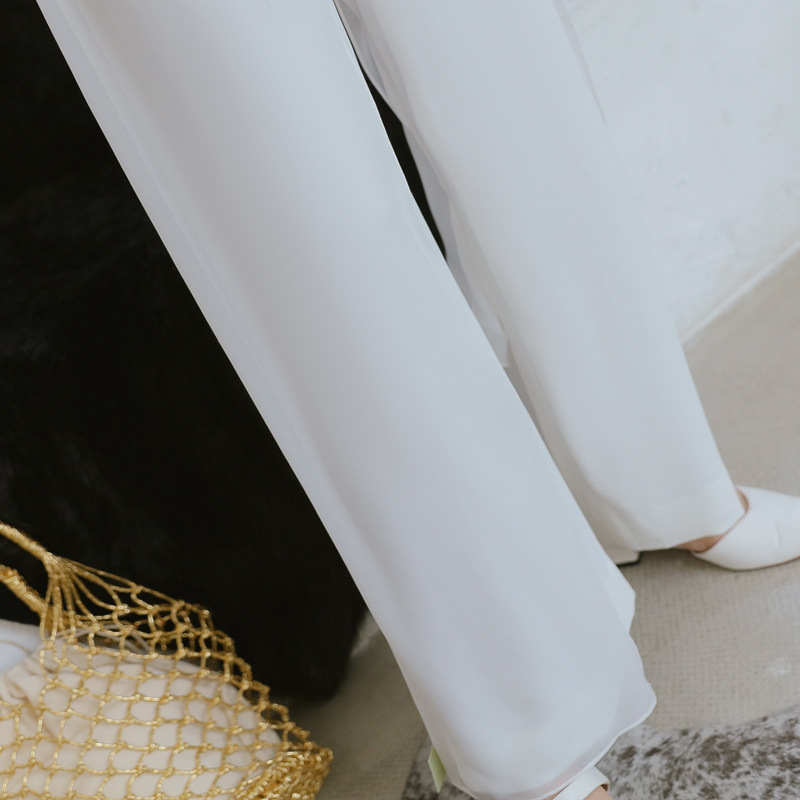 2018 Summer Strapless Jumpsuits Rompers Women White Sleeveless Straight Pants Office Lady for Women Sheath Party Club Jumpsuit 13