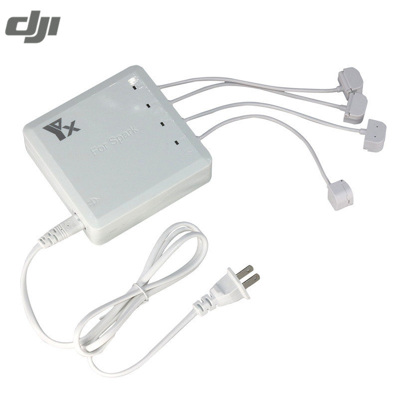 DJI искры RC Камера Drone США Версия 6 в 1 Multi Батарея Дистанционное управление телефон центром параллельно Dual <font><b>USB</b></font> разъем Зарядное устройство
