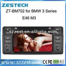 Car Head Unit Sat Nav DVD Player for BMW E46 1998-2006 with GPS Navigation Radio TV Stereo Tape Recorder Russian Menu