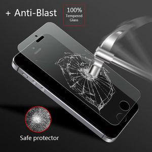 Image 4 - Ronican Frosted Matte Glas Voor Iphone Se Gehard Glas 9 H Hardheid Iphone 6 7 Explosieveilige Beschermende Glas voor Iphone 5s 4