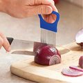 Multifunction Stainless Steel Onion Tomato Vegetable Slicer Cutting Aid Guide Holder Slicing Cutter Gadget Kitchen Tools