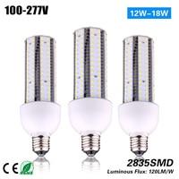 3 years warranty 18w E26 corn bulb led lighting CE ROHS 100 277VAC used indoor lighting