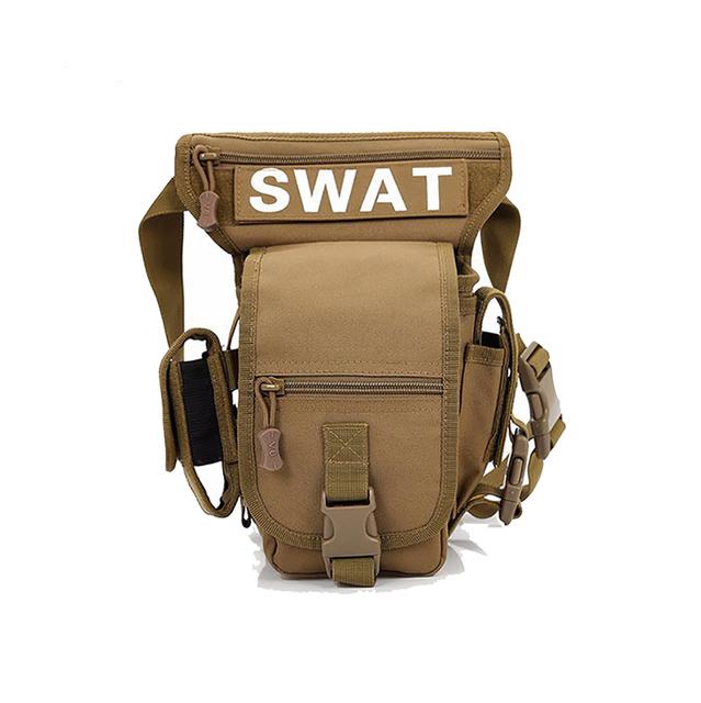 Novos Homens Perna Queda Saco de Viagem Militar Molle 1000D Nylon Durável Hip Bum Bloco de Fanny Moda Desinger Sacos de Cintura Bolsa de Cinto Masculino