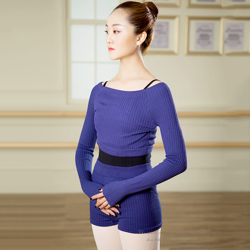 Yoga Fitness Gymnastic Dance Blouse (2)