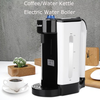 3L Electric Water Boiler Instant Heating Electric Kettle Water Dispenser Adjustable Temperature Coffee Tea Maker Office 2000W 1 5l water kettle handheld electric water kettle instant heating auto power off protection wired kettle