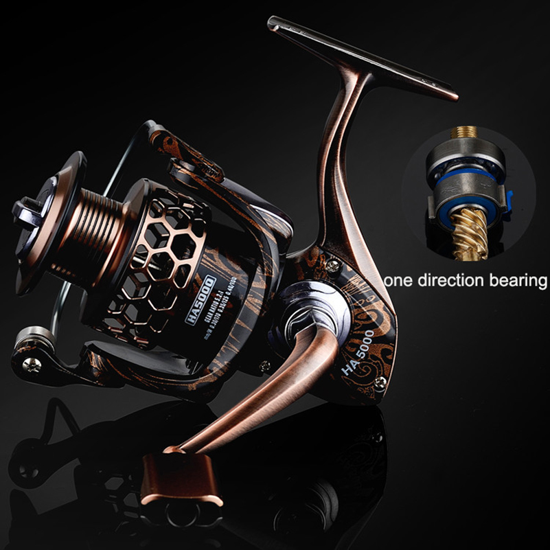 Image 4 - YUYU Quality full metal Fishing Reel fish reel castfish surfcasting reel spinning reel for carp fishing spinning reel Drag 10kg-in Fishing Reels from Sports & Entertainment
