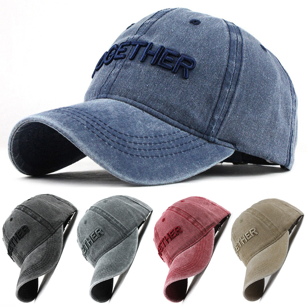Unisex Outdoor Cotton High Quality Embroidered   Baseball     Caps   Adjustable large size in Men's and Women's