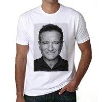 100 Cotton Short Sleeve O Neck Tops Tee Shirts Robin Williams Men S T Shirt Celebrity