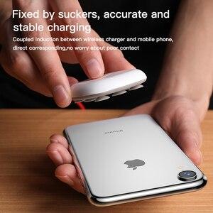 Image 5 - Беспроводное зарядное устройство Baseus на присоске для iPhone 11 Pro Max Qi, беспроводное зарядное устройство для Samsung Note 9 S9 + Беспроводное зарядное устройство USB
