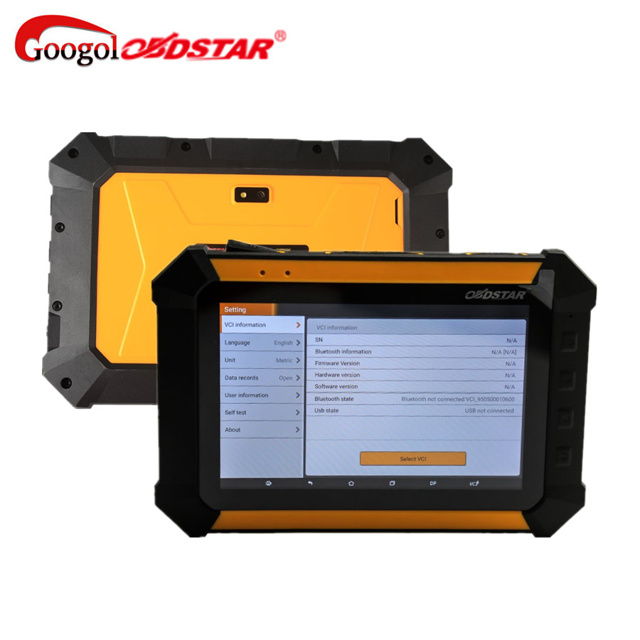 Prix pour OBDSTAR X300 DP PAD Tablet Clé Programmeur Standard Configuration Immobilisation/Ajustement D'odomètre/EEPROM Mise À Jour de X300 Pro3