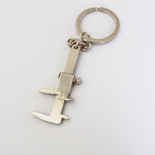High 1PC Quality Novelty Simulation Movable Vernier Caliper Model Key Chain Keyring Best