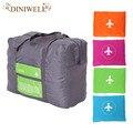 32L Grande Capacidade de bagagem Embalagem Tote/Ombro Saco Grande Saco de Compras de Viagem Dobrar Roupas De Armazenamento Organizador Bolsa