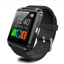 2018 Novo Relógio Bluetooth U8 Smartwatch Relógio Esportivo Bebida Quente Passometer Tela Sensível Ao Toque de Resposta e Discar os Telefones com retail caixa