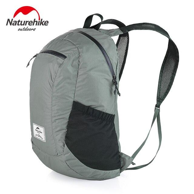 eae47649c6 Naturehike WaterproofFoldable Sac À Dos Ultra-Léger Unisexe Bretelles 3  Couleurs En Plein Air Voyage