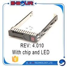 2,5 ''sas жесткого диска SATA HDD Caddy кронштейн 651687-001 аккумулятор большой емкости для hp G8 Gen8 Gen9 G9 DL380 DL360 DL160 DL385 2,5 дюймов серверный лоток