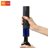Xiaomi Mijia Huohou Automatic Red Wine Bottle Electric Corkscrew Foil Cutter Cork Out Tool for Mi Smart Home Kits 6S