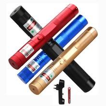 Tactics Military Green Laser Pen lazer Pointer SDLaser Adjustable Focus Burning High Quality Flashlight Point