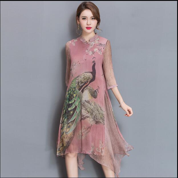 Шелковые платья больших размеров