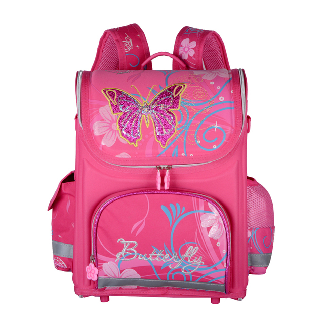 Hot Sale Orthopedic Children School Bags For Girls and Boys Spiderman Car WINX Butterfly Kids Backpacks Child Mochila Infantil