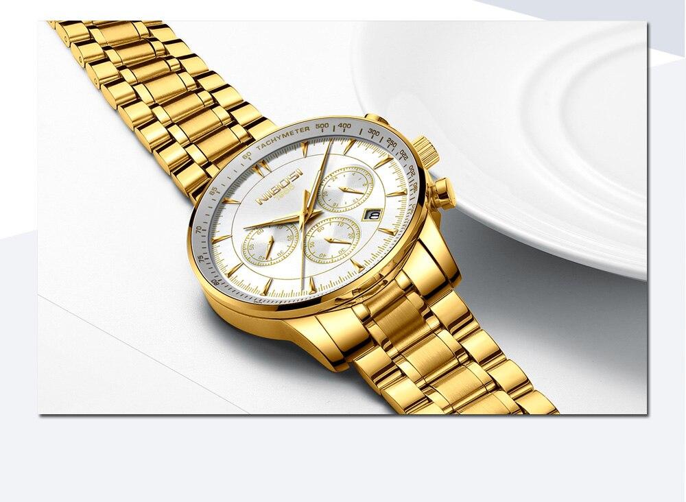 Relogio Masculino NIBOSI Quartz Watches Men Steel Band Men Watches 2018 Luxury Brand Waterproof Wrist Watches For Men Brand Saat (11)