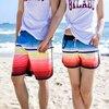 New Summer Women Men S Beach Shorts Surfing Couple Swimming Boxer Trunks Bathing Suits Swimwear Swimsuits