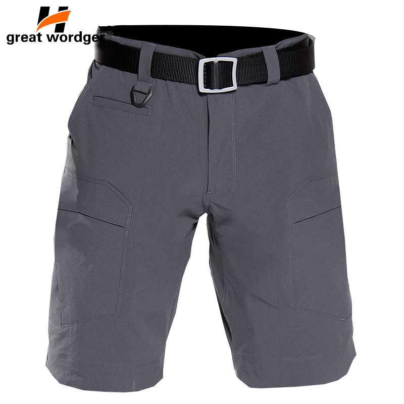 Camping & Hiking Mens Summer Military Tactical Shorts Sports Hiking Shorts Army Cargo Shorts Outdoor Men Loose Training Camouflage Shorts Hiking Clothings