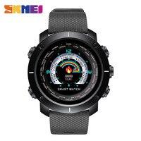 SKMEI Smart Watch Pedometer Digital Casual Man Waterproof Remote Camera Heart Rate Monitor Woman Wristwatch Relogio Masculino