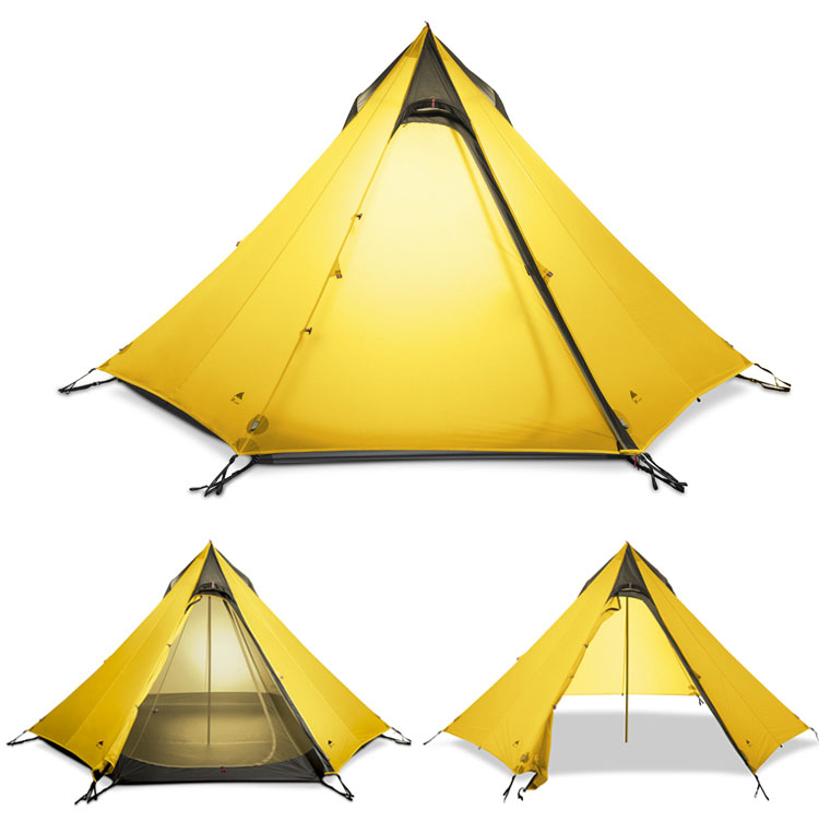 huge selection of 10447 b384a 3F UL GEAR Ultralight Outdoor Camping Teepee 15D Silnylon ...