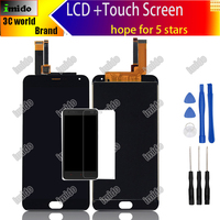 MeiZu M2 Note LCD Display Touch Screen 100 Original Screen Digitizer Assembly Replacement For MeiZu M2
