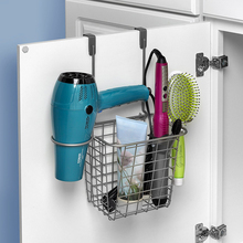 Grid Hair Styling Station Over the Cabinet Door spectrum 76624 over the drawer cabinet hook