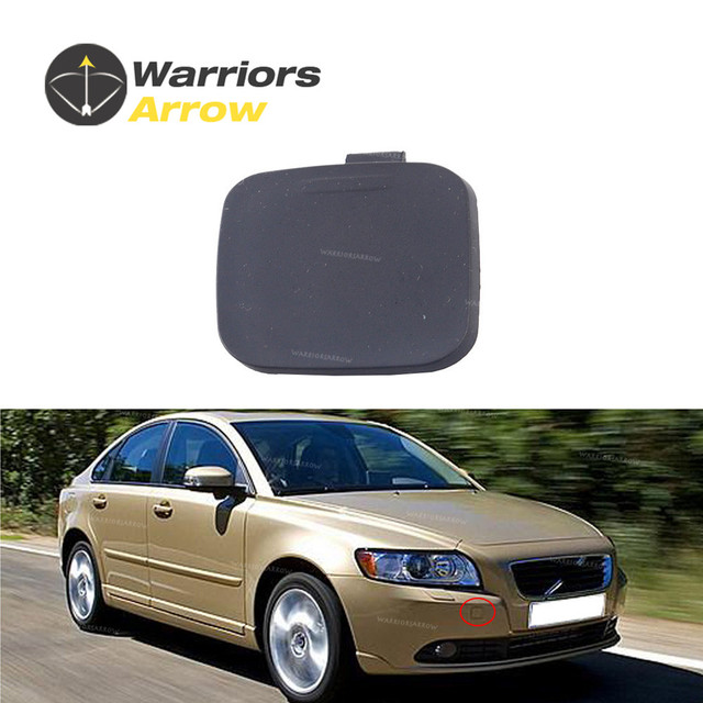 Us 4 87 39886277 30744906 For Volvo S40 2008 2009 2010 2011 Front Bumper Grille Grill Tow Eye Hook Cap Cover Random Color In Bumpers From