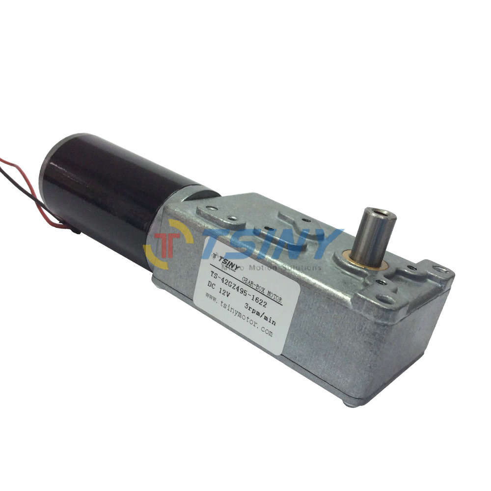 High torque electric 12v dc gear motor reversible low for High torque high speed dc motor
