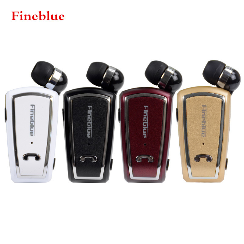 bilder für Fineblue F V3 Mini Drahtlose Fahrer Auriculares Stereo Bluetooth 4,0 Headset Retractable Clip Lauf Kopfhörer für Smartphone