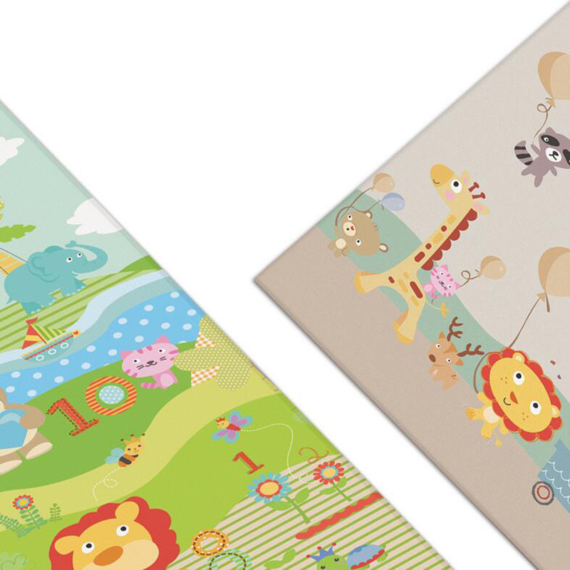 Kids Rugs Baby Play Mats cm thick Cartoon Double side Environme Children s Rug Toddler Toys