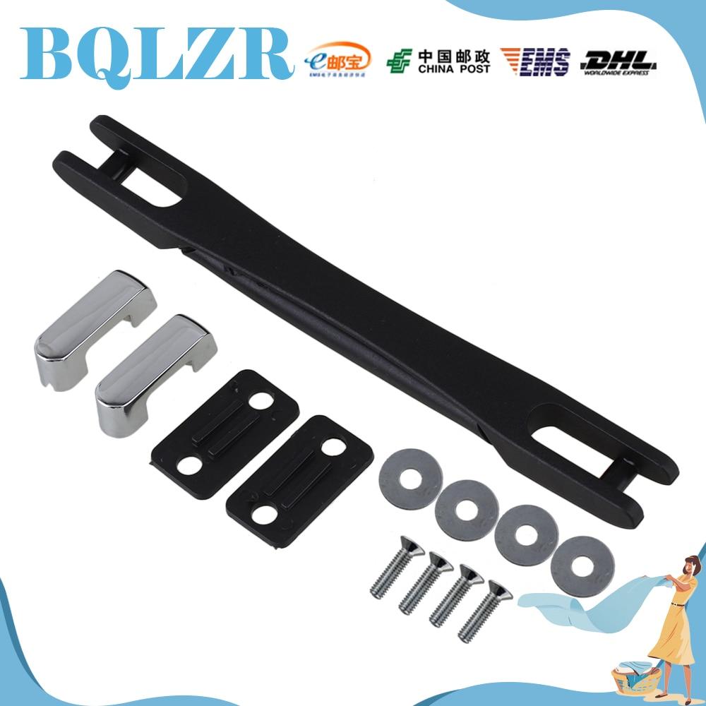 BQLZR Luggage Carry Plastic Handle with Screw B019 12.5cm Black Strap Handle 2pieces diy bqlzr 9 1cmx10 7x4 9cm black plastic left