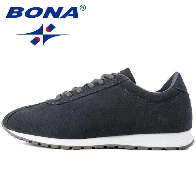 BONA nouveau Style typique hommes chaussures de marche activités de plein air baskets chaussures de Sport à lacets confortables hommes doux livraison gratuite rapide