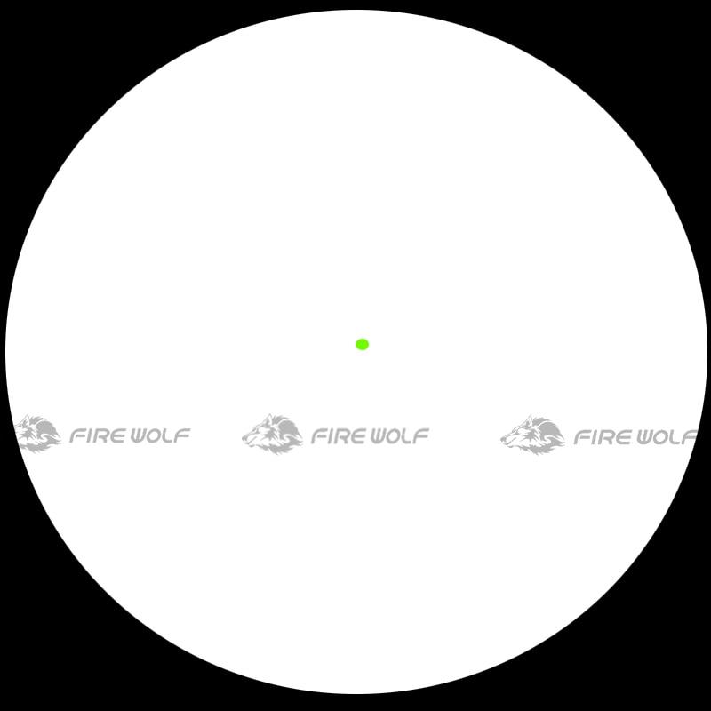 Scope com qd Reflex Srs Solar 1x38 Vista