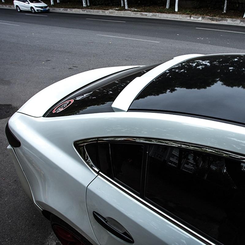 For Mazda 6 atenza Spoiler High Quality ABS Material Car Rear Rear Spoiler For Mazda 6 atenza black White Spoiler refires mazda 3 resin material