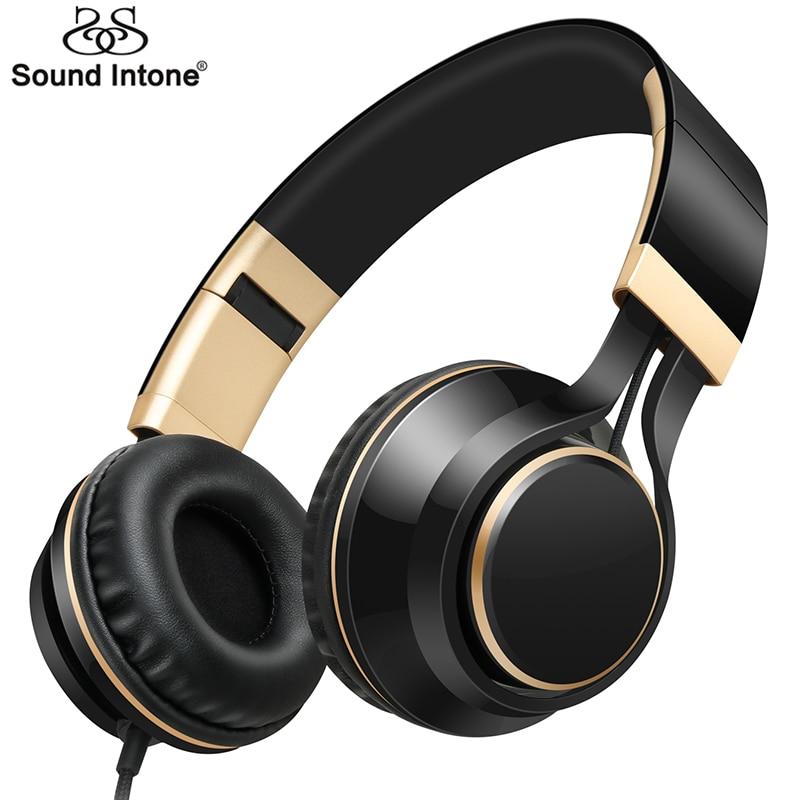 Son Entonnent I58 Réglable Casque Écouteur Détachable Écouteurs Casque fone de ouvido avec Microphone Pour Téléphone Portable Ordinateur