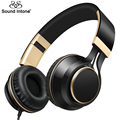 Sound Intone I58 Wired Earphone for Phones Foldable Headsets with Strong Bass AUX Cable for Computer Headphones with Microphone