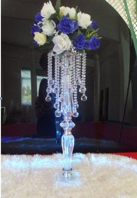 New arrival 70cm Acrylic wedding centerpiece event decoration wedding road lead, party decoration Table Centerpiece