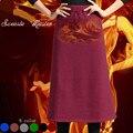 2016 estilo do Inverno Cashmere mulheres quentes saias 6 cores de alta qualidade mulheres marca de roupas saias