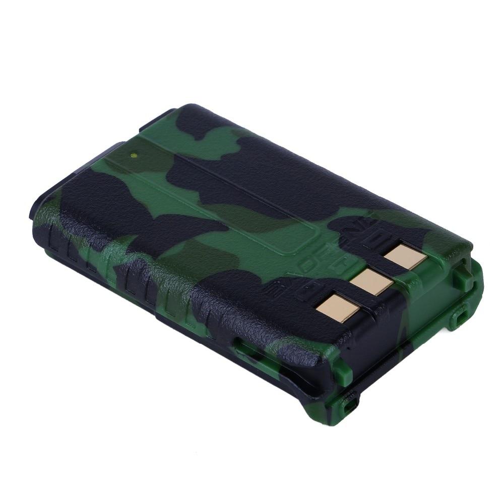 För BaoFeng 7.4V 1800mAh Li-ion-batteri för UV-5R / UV-5RA / 5R-B / UV-5RC / UV-5RD / UV-5RE 7.4V 1800mAh Kamouflage Färg