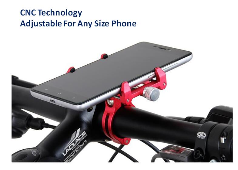 GUB G-86 Universal Motorcycle MTB Bike Phone Holder On The Handlebar Aluminum Alloy Bicycle Phone Support GPS Bike Accessories цены онлайн