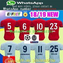 091ef9a5f78 Bayern Munich soccer SHIRT 2018 2019 Muller 25 RIBERY ROBBEN LEWANDOWSKI  soccer shirts Bayern Munich football