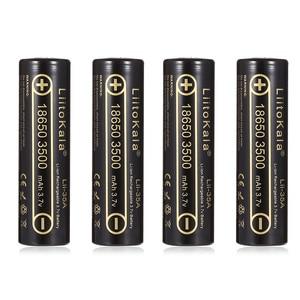 Image 5 - 1 adet 100% orijinal LiitoKala Lii 35A 3.7V 3500mAh NCR18650GA 10A boşaltmalar şarj edilebilir piller