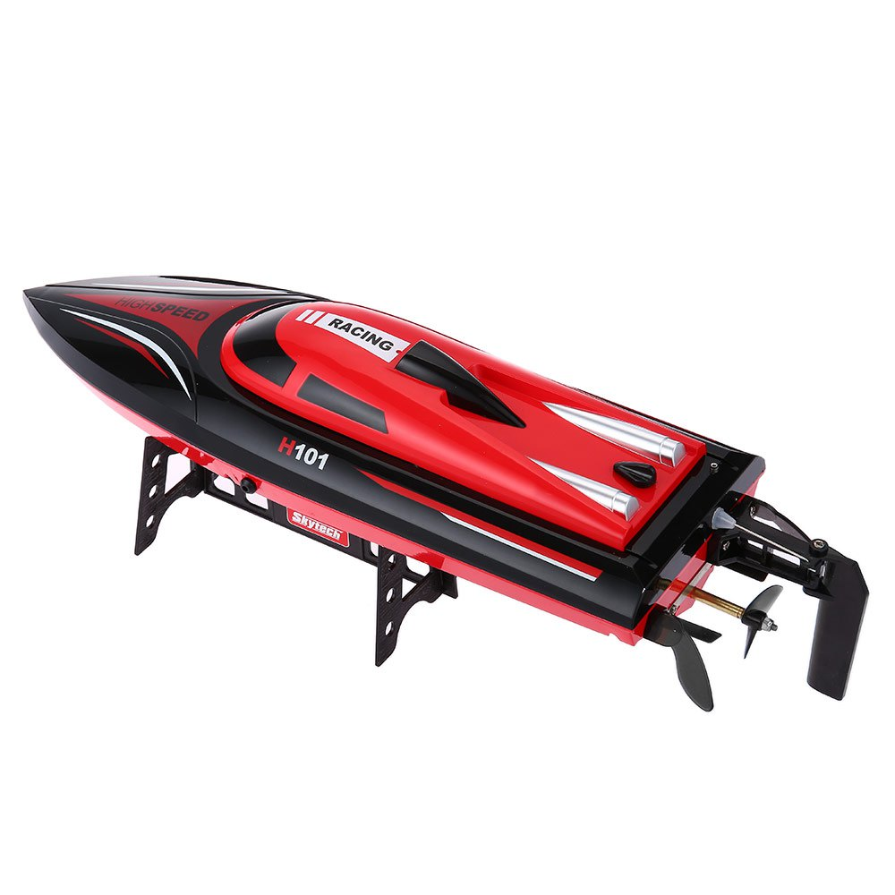 New Racing Boat Skytech H101 2.4G 4CH Remote Control Racing Yacht Boat Toy Simulation Model RTR Version Outdoor Toys RC Boats купить в Москве 2019