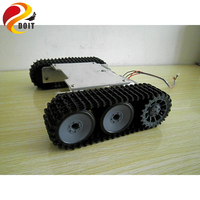 Tank Robot Car Chassis Kit Caterpillar DIY Robot Electronic Toy Remote Control Tracked Smart Car Development