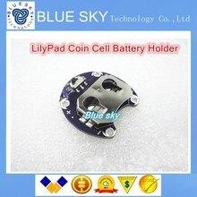 10 ШТ./ЛОТ Для Arduino LilyPad Держатель Батарейка CR2032 Держатель Батареи Модуль